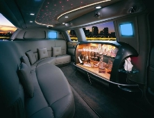 Lincoln Town car Limo Black