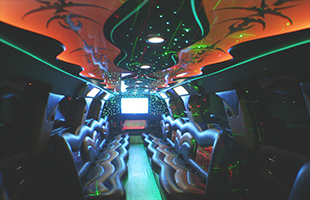 Escalade limousine Burbank